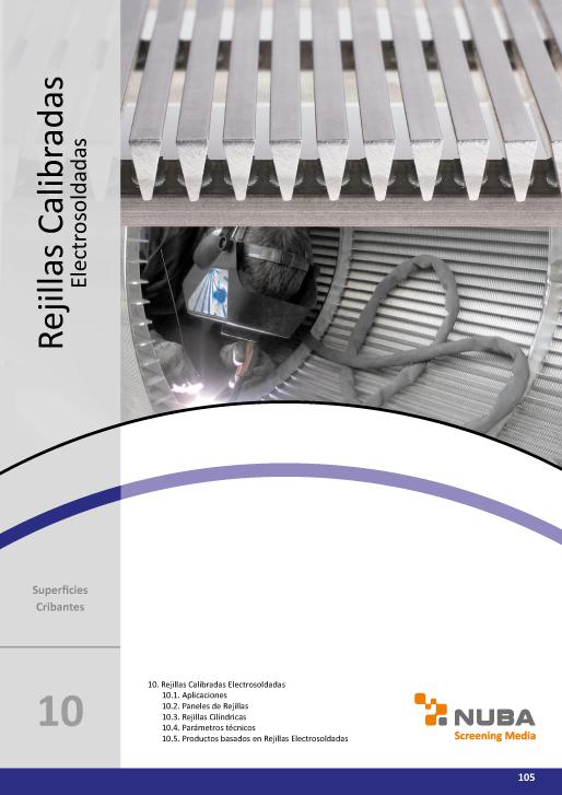 Descarga el Catálogo de Talleres Núñez en PDF de Rejillas Calibradas Electrosoldadas
