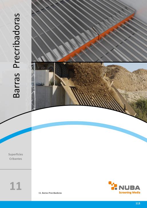 Descarga el Catálogo de Talleres Núñez en PDF de Barras Precribadoras