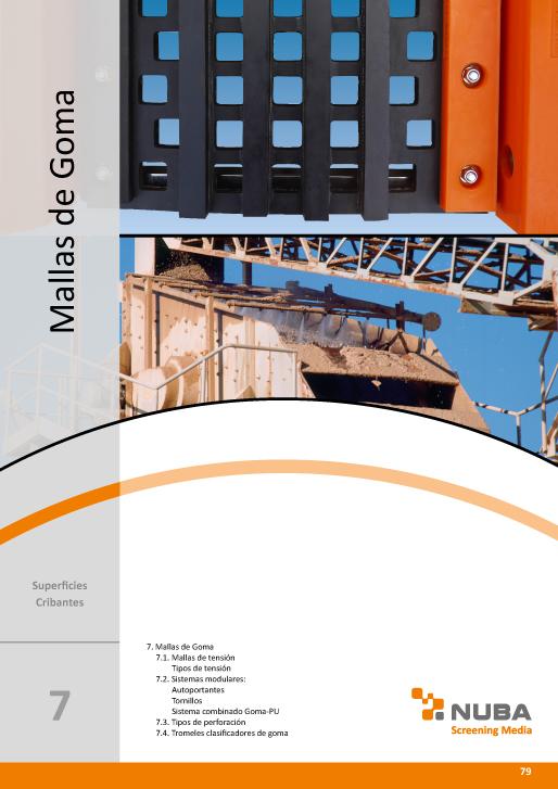Descarga el Catálogo de Talleres Núñez en PDF de Mallas de goma