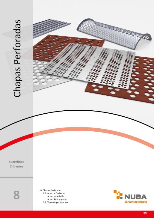 Descarga el Catálogo de Talleres Núñez en PDF de Chapas Perforada